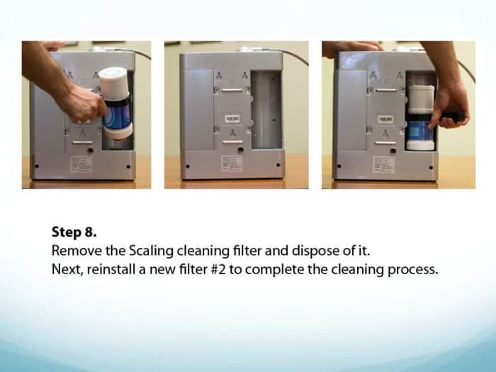Scaling Filter Install Step 8